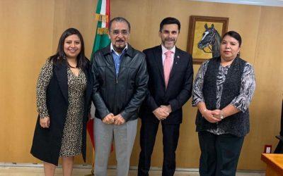 Reunión con el Ing. Francisco Hernández Juárez
