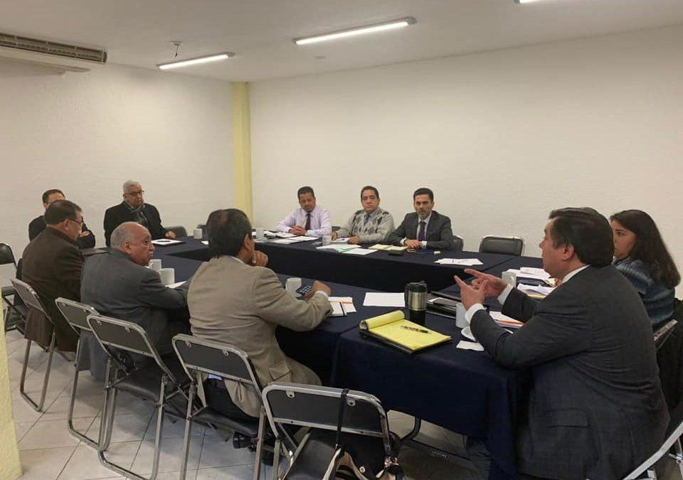 Reunión de la Fenabad con Abogados en Suntbanobras