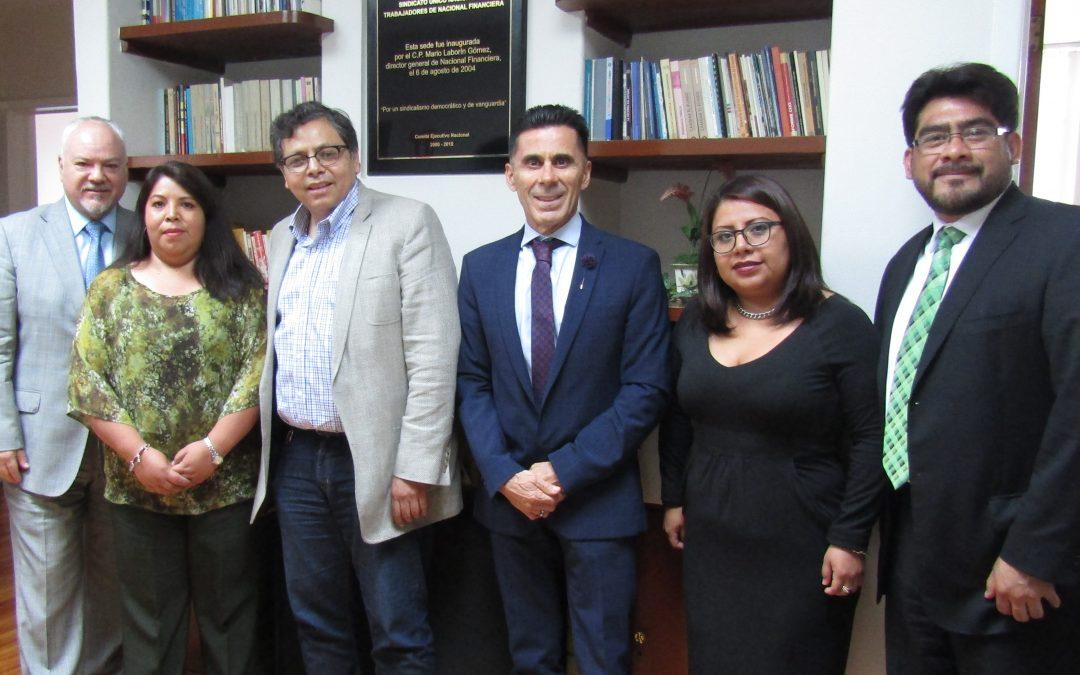 Reunión con el Abogado, Mtro. Eugenio Narcia Tovar