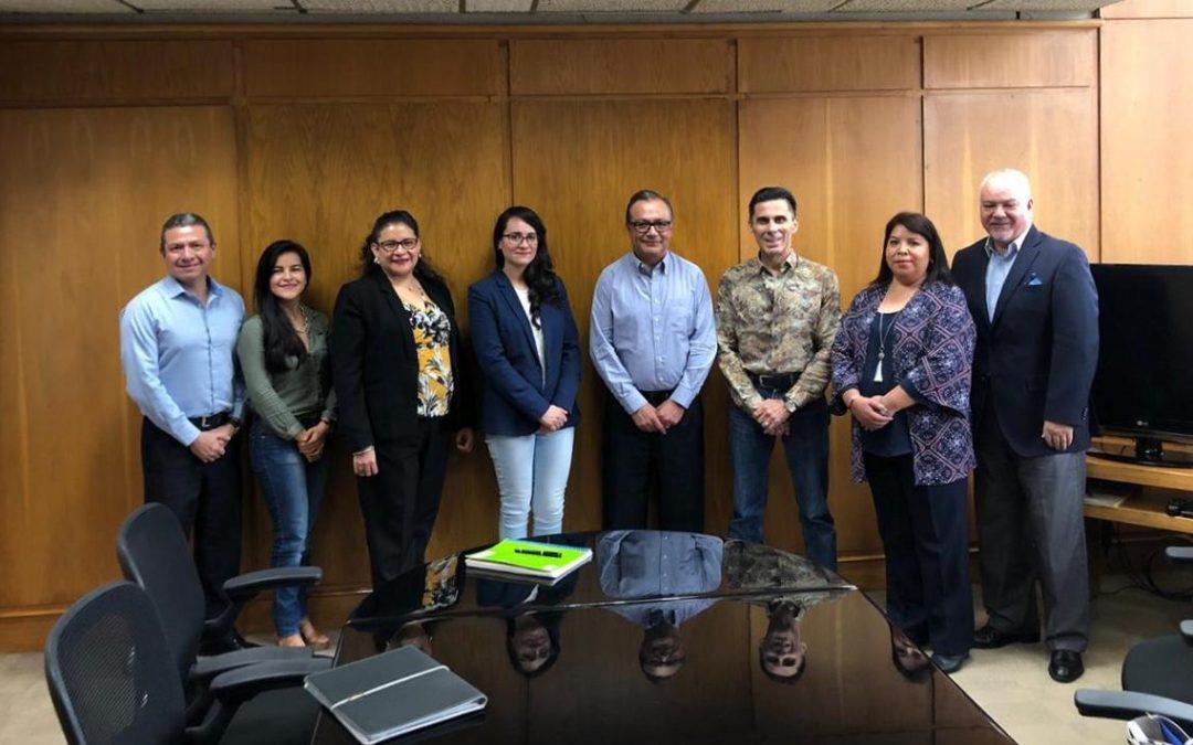 Reunión con el DGA de Administración y Finanzas de Nacional Financiera