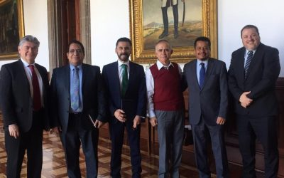 Reunión con el Ing. Alfonso Romo Garza
