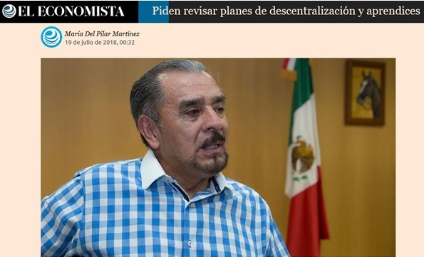 Piden Revisar Planes de Descentralización y Aprendices